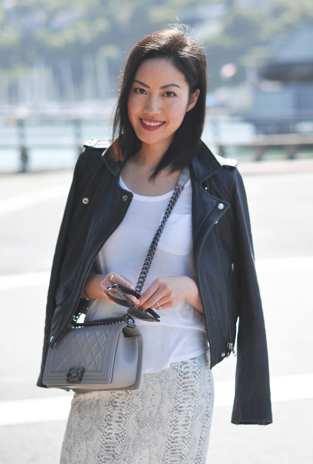 9to5chic leather jacket