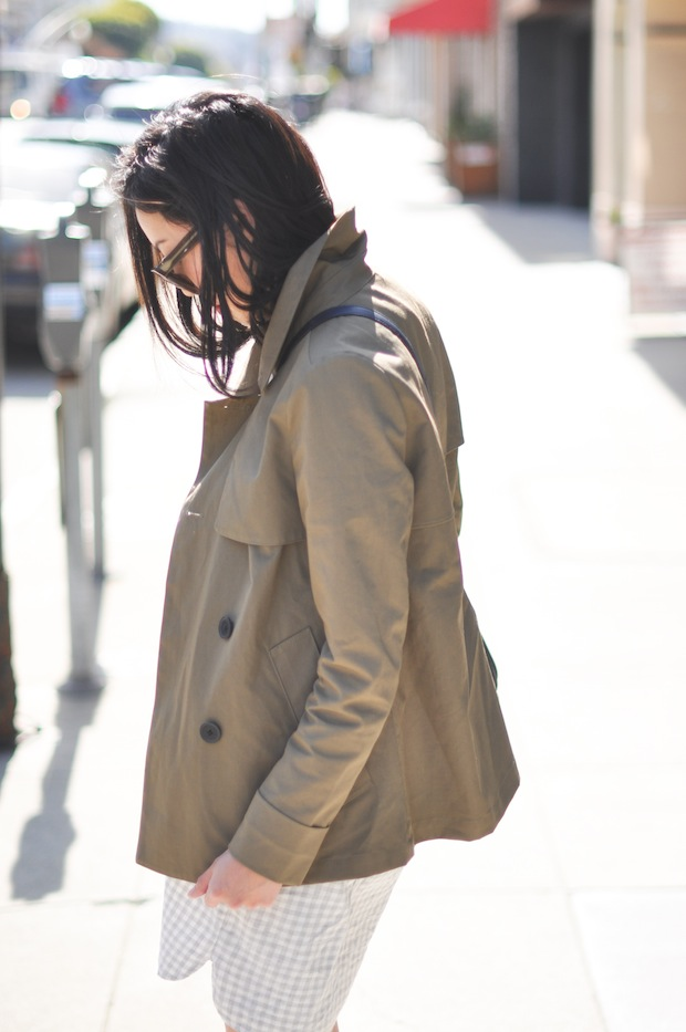 9to5chic_olive_trenchcoat