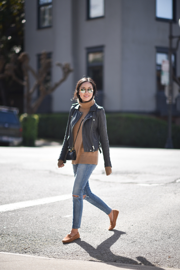 leather-jacket-loafers-outfit