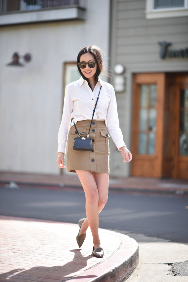 spring-outfit-button-up-skirt-micro-fendi-peekaboo