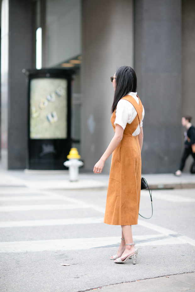 suede-dress-spring-outfit