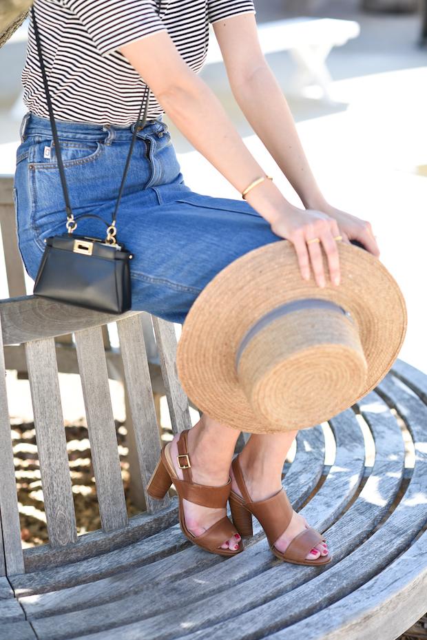 spring-outfit-denim-skirt-striped-shirt-2