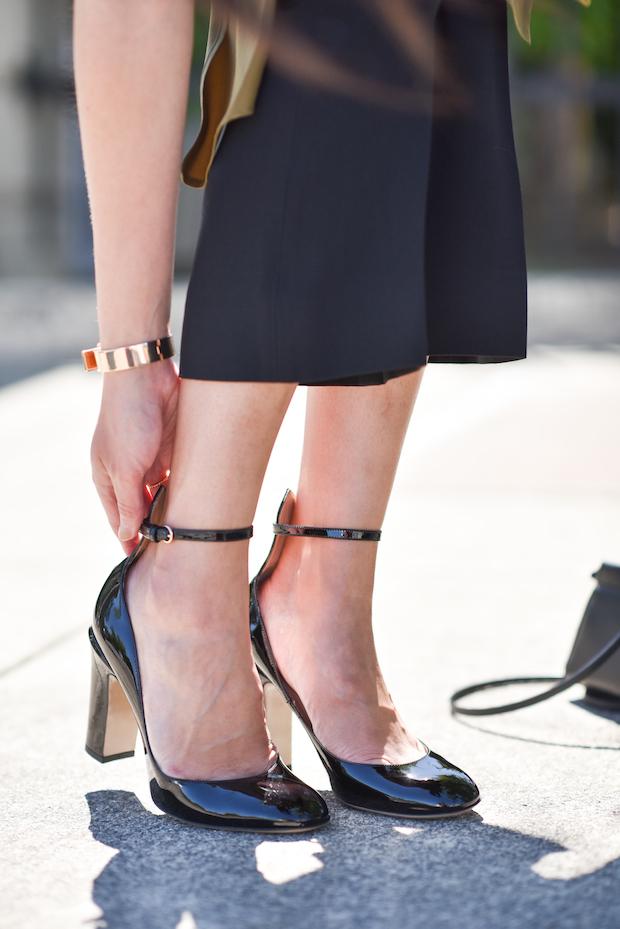 abiye blok topuklu ayakkabı