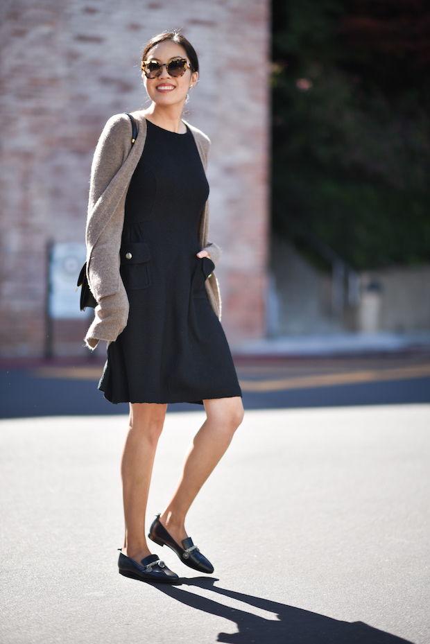 st-john-dress-madewell-cardigan-2