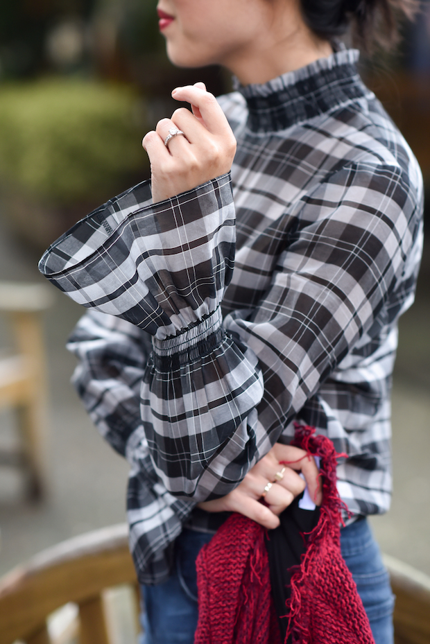 9to5chic-intermix-plaid-top-2