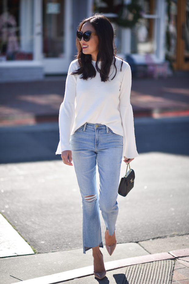 9to5chic-trumpet-sleeve-sweater-topshop-1