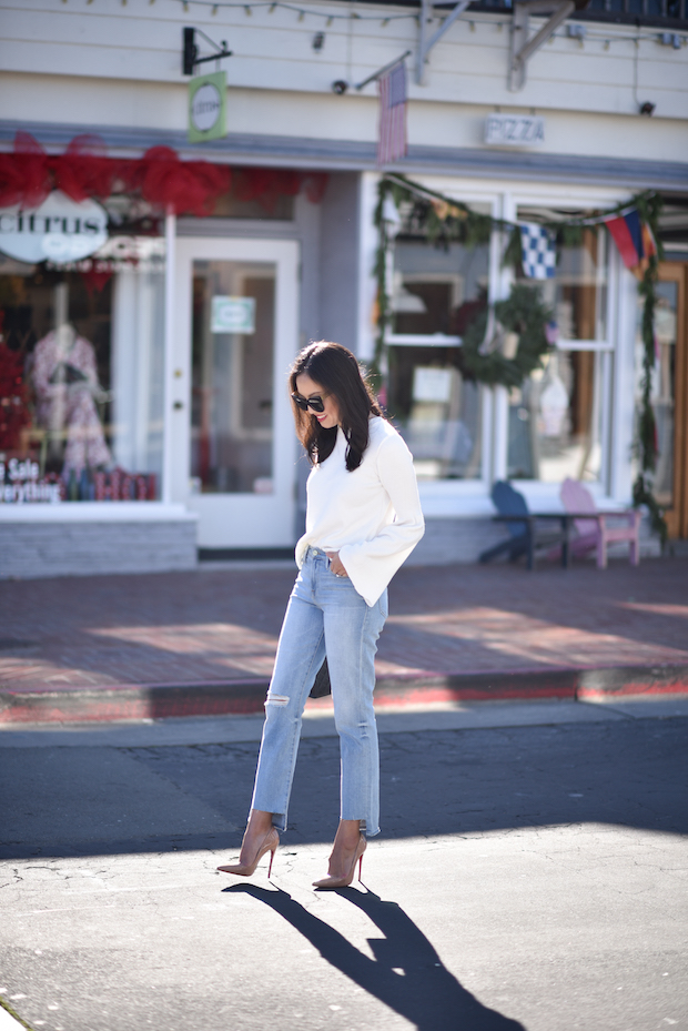 9to5chic-trumpet-sleeve-sweater-topshop-2
