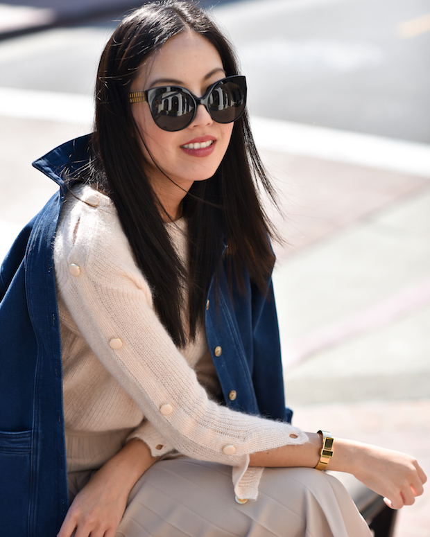 sezane-sweater-pleated-skirt-2