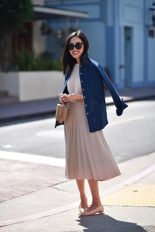 sezane-sweater-pleated-skirt-3