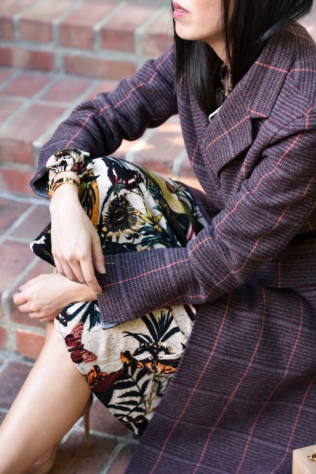 plaid-coat-floral-dress-2
