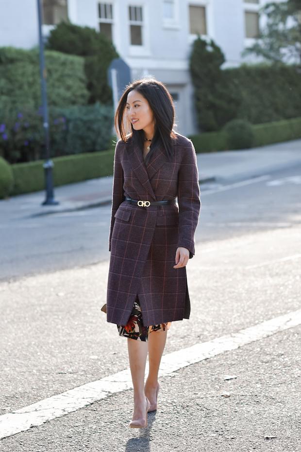 plaid-coat-floral-dress-1