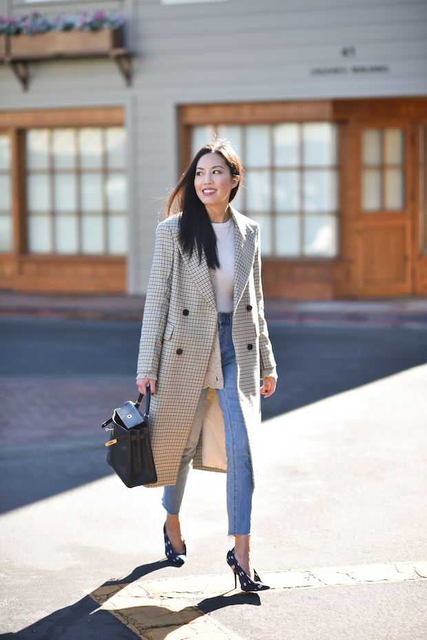 fall-outfit-plaid-and-polka-dots-1