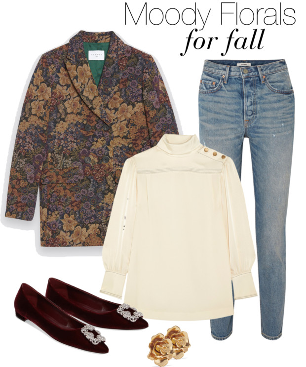 moody florals for fall